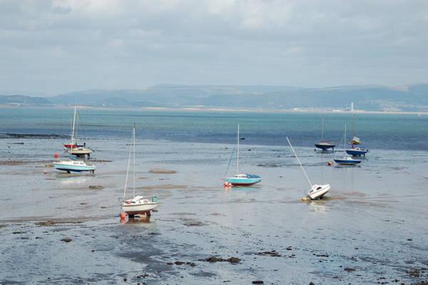 Photograph - Swansea Bay Sailboats by Tam Ryan
