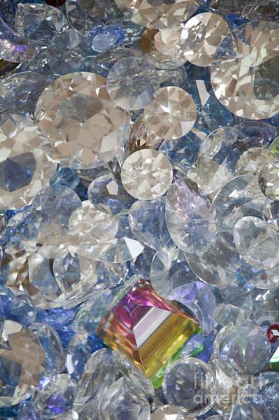 Jewelery Photograph - Swarovski Crystals by Alex Rowbotham