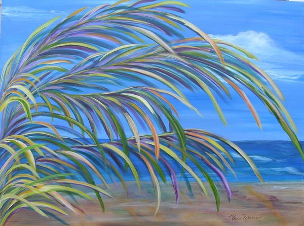 Painting - Swaying In The Breeze by Paula Robertson