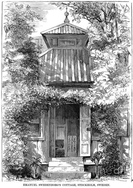 Photograph - Swedenborgs Cottage by Granger