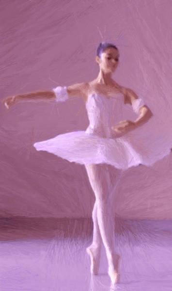Wall Art - Painting - Sweet Ballerina by Steve K