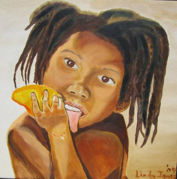 Painting - Sweet Mango by Jennylynd James