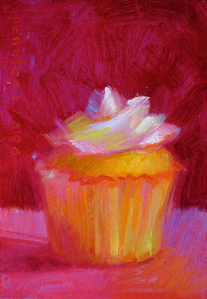 Whipped Cream Painting - Sweet Talk by Penelope Moore