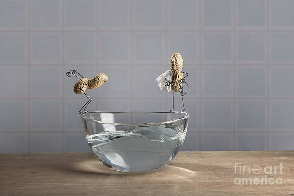 Figurine Wall Art - Photograph - Swimming Pool by Nailia Schwarz
