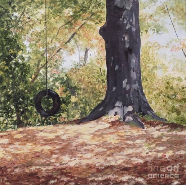 Swing Time Art Print by Carla Dabney
