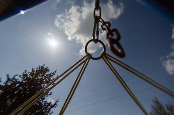 Photograph - Swinging In A Hammock by Michael Goyberg
