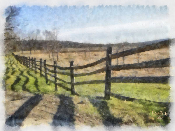 Photograph - Swingle's Farm by Trish Tritz