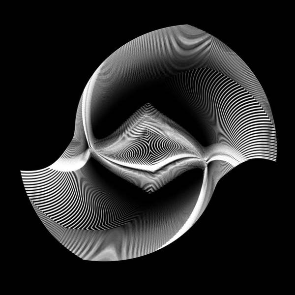 Digital Art - Swirl by Visual Artist Frank Bonilla