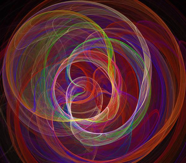 Energy Digital Art - Swirling Energy II by Ricky Barnard