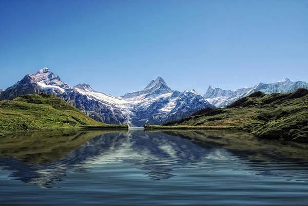 Swiss Alps Wall Art - Photograph - Swiss Primary Rocks by Joachim G Pinkawa