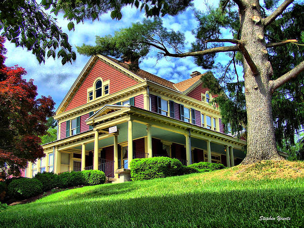 Wall Art - Photograph - Sykesville Town House by Stephen Younts