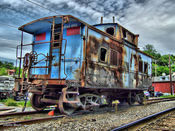 Wall Art - Photograph - Sykesville Train by Stephen Younts