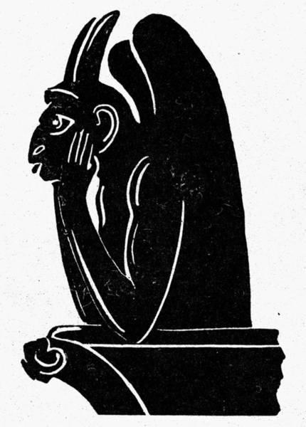 Photograph - Symbol: Gargoyle by Granger