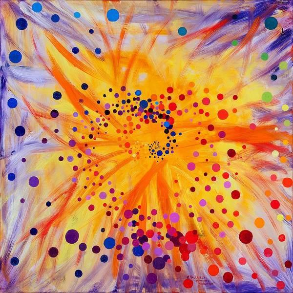 Painting - Symmetry Breaking by Regina Valluzzi