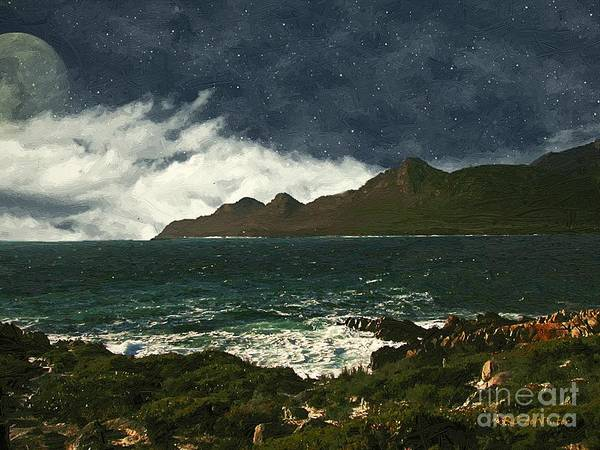 Painting - Symphony Of Stars And Sea by RC DeWinter
