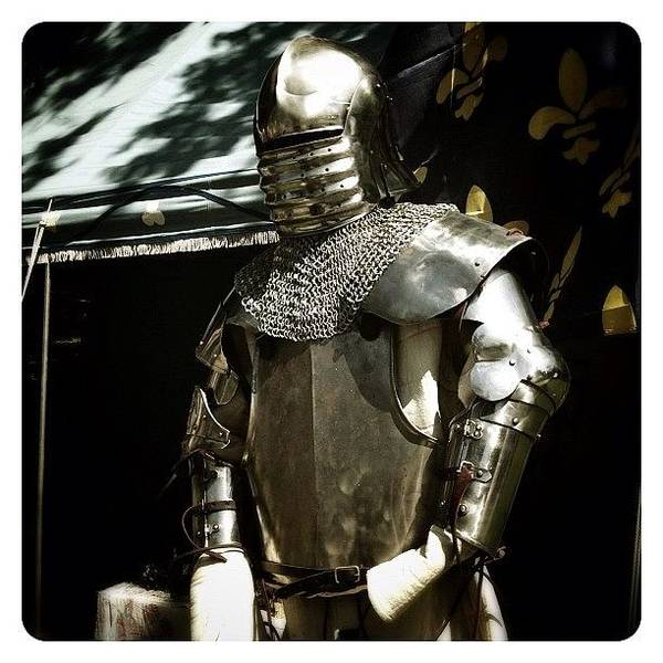 Fantasy Wall Art - Photograph - Syttende Mai Suit Of Armor by Natasha Marco