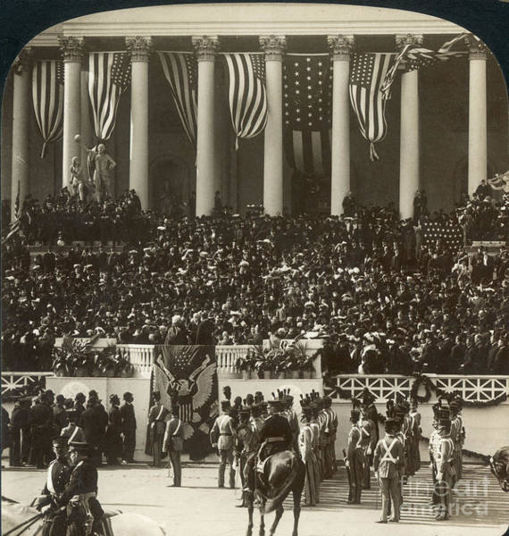 Melville Photograph - T. Roosevelt Inauguration by Granger