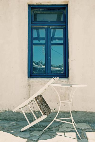 Greece Photograph - Table And Chair by Joana Kruse
