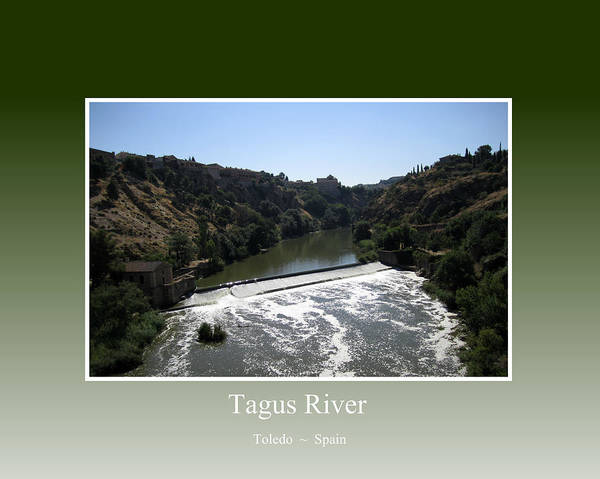 Photograph - Tagus River In Toledo by John Shiron