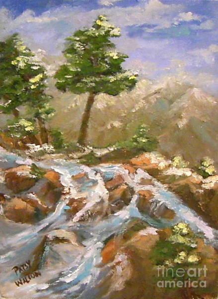 Painting - Tahoe Spring Break by Patsy Walton