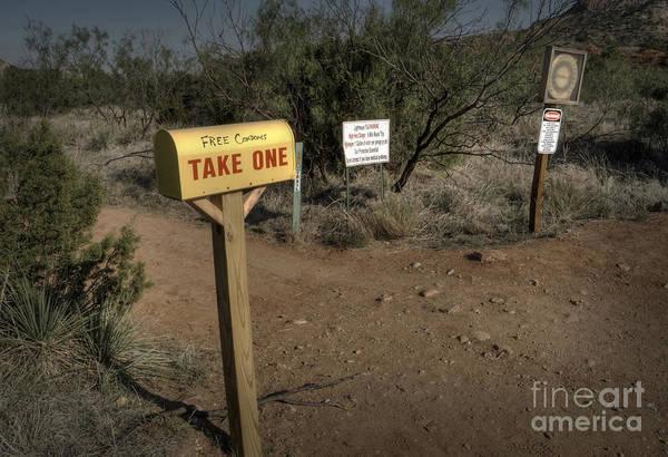 Box Canyon Wall Art - Photograph - Take One by Fred Lassmann