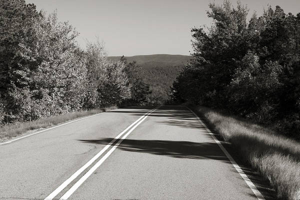 Scenic Byway Photograph - Talimena Roads I by Ricky Barnard