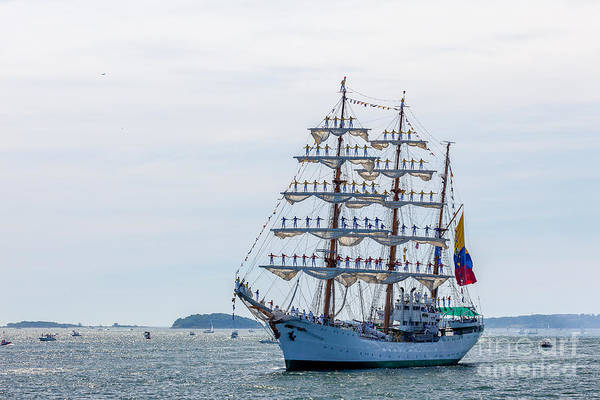 Photograph - Tall Ship Gloria  by Susan Cole Kelly