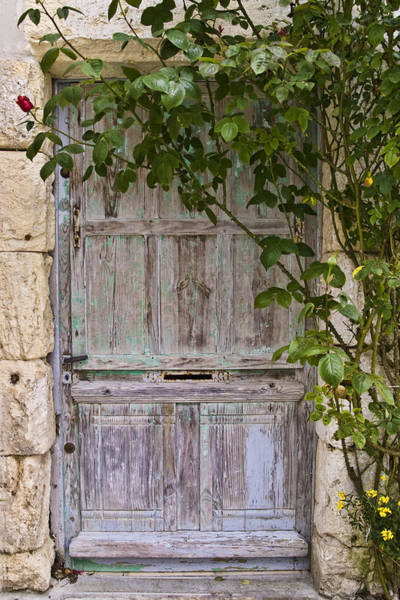 Photograph - Talmont Door by Wes and Dotty Weber