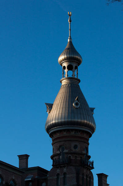 Photograph - Tampa Bay Hotel Minaret by Ed Gleichman