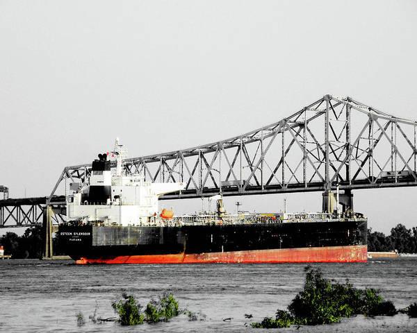 Photograph - Tanker Baton Rouge by Lizi Beard-Ward
