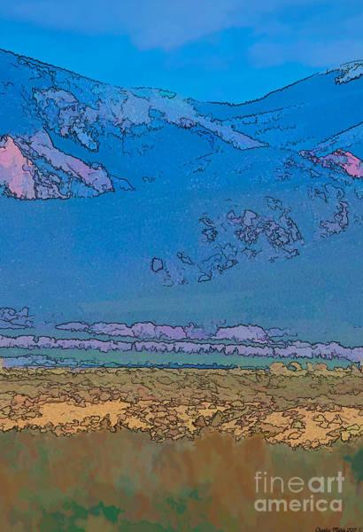 Digital Art - Taos Abstract by Charles Muhle