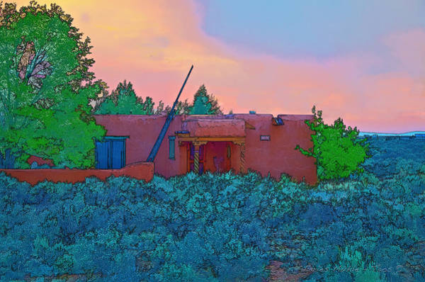 Photograph - Taos Casita II by Charles Muhle