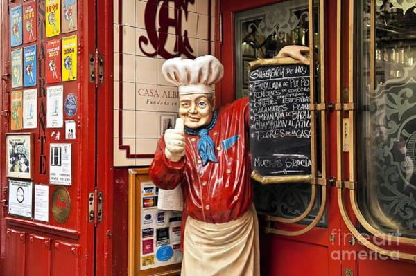 Taverna Photograph - Tapas Restaurant by John Greim