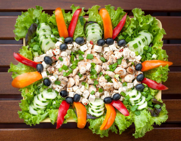 Photograph - Tasty Chicken Salad by Ari Salmela