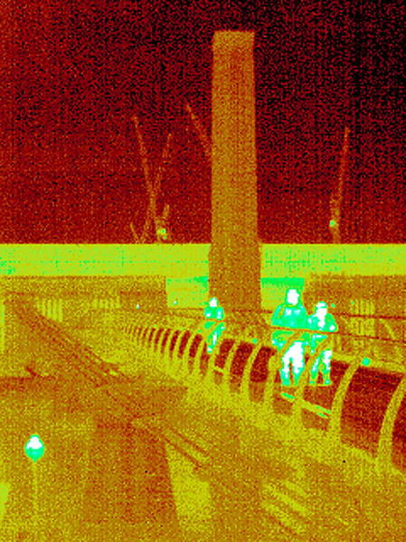 Bankside Photograph - Tate Modern, Uk, Thermogram by Tony Mcconnell