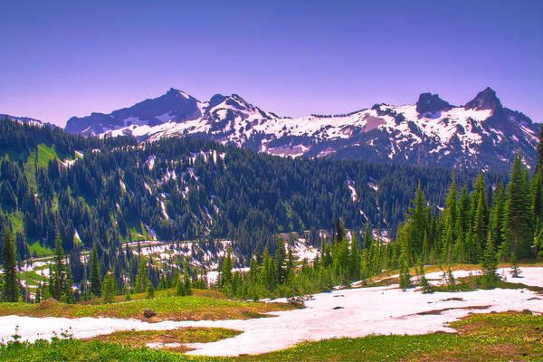 Photograph - Tatoosh Mountain Range II by David Patterson