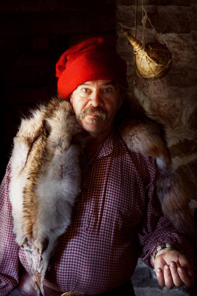 Photograph - Taxidermist - Jaque The Fur Trader by Mike Savad