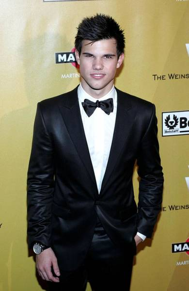 2010s Fashion Wall Art - Photograph - Taylor Lautner At The After-party by Everett