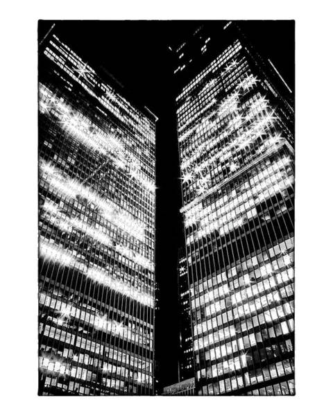 Photograph - Td Centre Night by Brian Carson