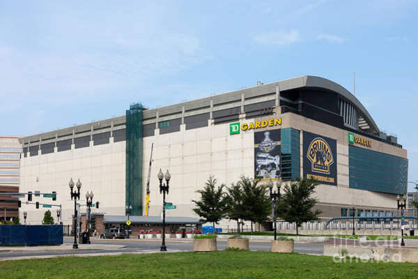 Photograph - Td Garden by Clarence Holmes