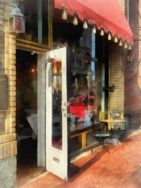 Photograph - Tea Room In Sono Norwalk Ct by Susan Savad