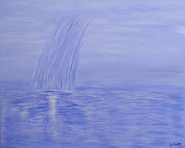 Ione Painting - Tears From Heaven by Ione Hedges