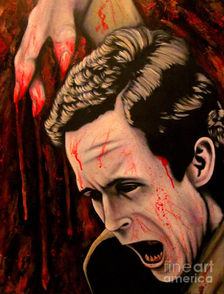 Ted Bundy Painting - Ted Bundy by Justin Coffman