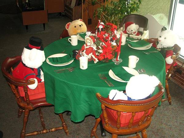 Photograph - Teddy Bear Christmas Party by Keith Stokes