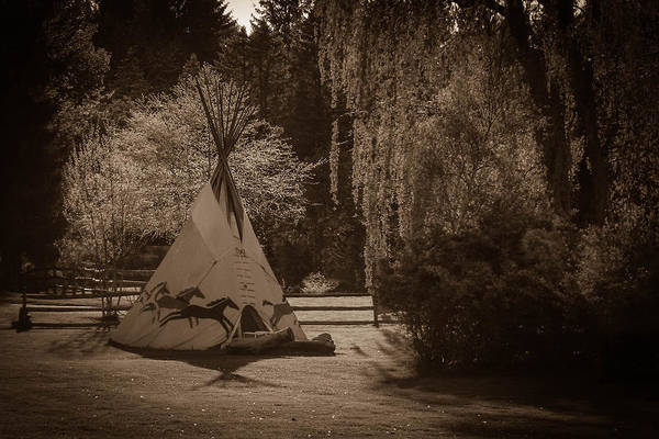 Photograph - Teepee by Guy Whiteley