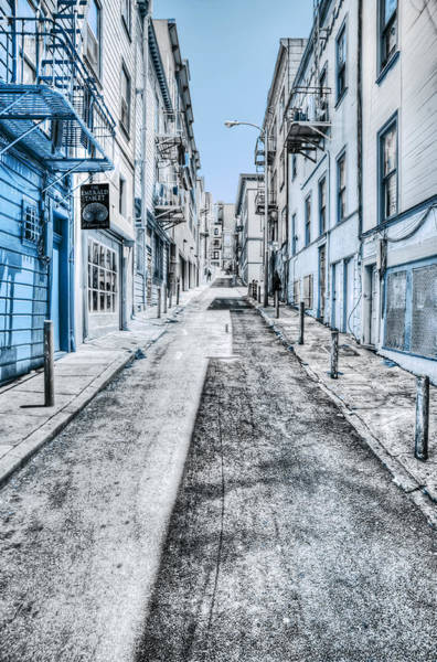 Telegraph Hill Blue Art Print