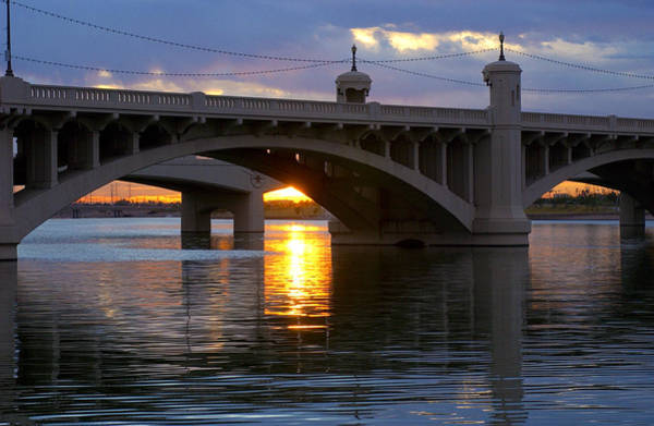 Photograph - Tempe Arizona Bridge by Jill Reger
