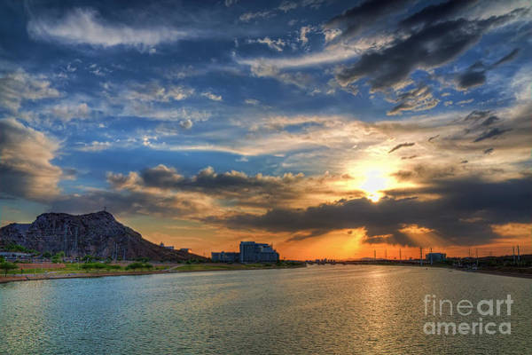 Wall Art - Photograph - Tempe Town Lake by Eddie Yerkish