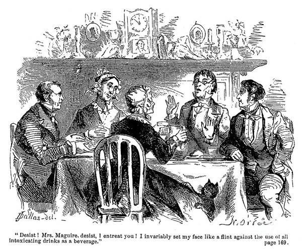 Temperance Movement Photograph - Temperance Movement, 1856 by Granger