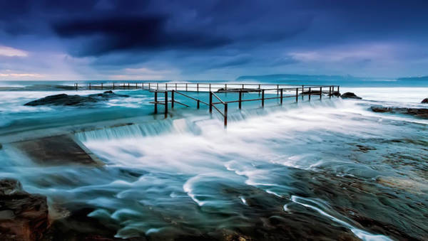 Photograph - Tempest At The Baths by Mark Lucey